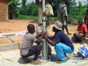 Pump Installation GCint Ghana